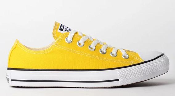 Tênis Converse All Star Amarelo Vivo Ct04200034 Orig.c/nf