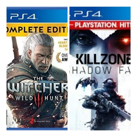 The Witcher 3 Wild Hunt + Killzone Shadow Fall Original 1