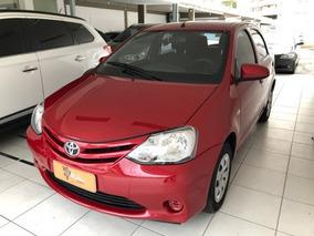 Toyota Etios X 1.3 16v Ano 2015 Modelo 2016