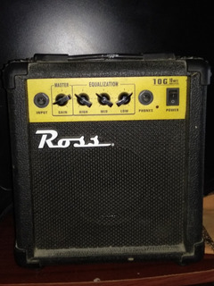 Vendo Amplificador Ross 10w P/guitarra