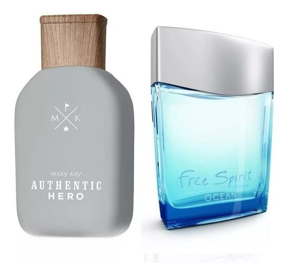 Perfume Authentic Hero + Free Spirit Ocean Mary Kay