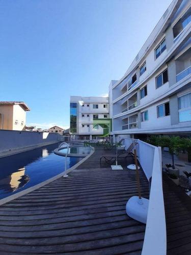 A Imobiliária Rio Litoral Oferece Para Venda Excelente Apartamento Costa Azul, Rio Das Ostras/rj. - Ap0584