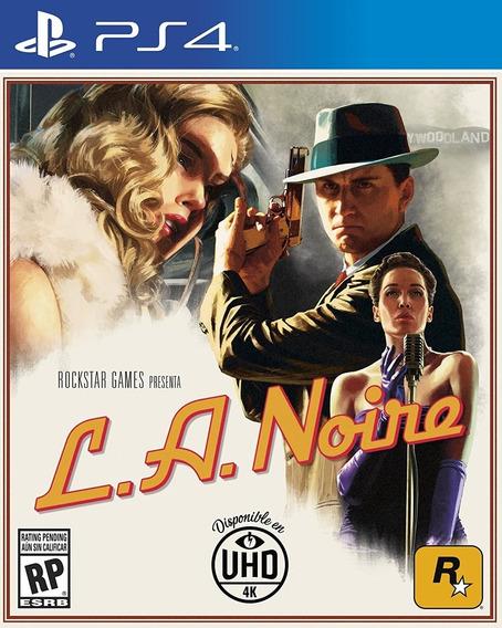 La Noire Ps4 | Legendas Inglês Edição Completa