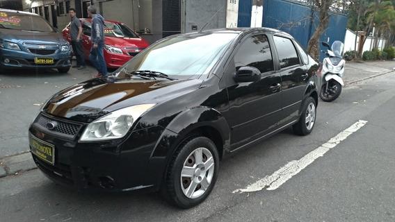 Fiesta Sedan 1.6 Trend 2008 Flex 4p Bx Km U.dona Completo