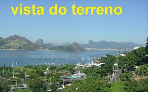 Imagem 1 de 20 de Terreno À Venda, 310 M² - São Francisco - Niterói/rj - Te0135