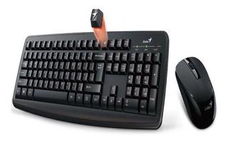 Kit Teclado Y Mouse Genius Km 8100 Smart Wireless Multimedia