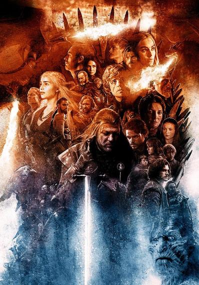 Game Of Thrones 1ª - 8ª Temporada / Dvd / Coleção / Série Tv