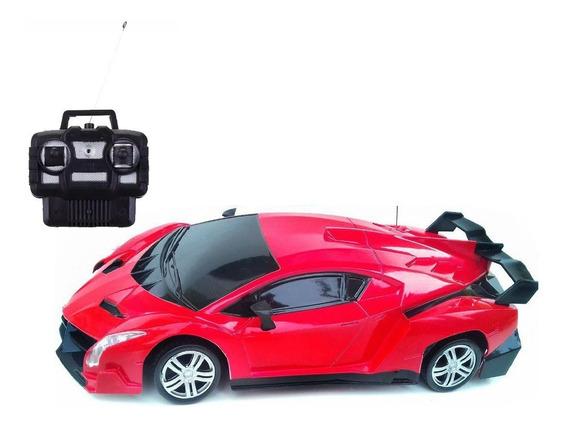 Carro De Controle Remoto Vermelho Lamborghini Gp 4 Canais