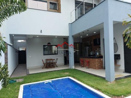 Casa A Venda Em Condomínio Fechado Brisas Da Mata Em Jundiaí - Sp. - Ca00477 - 69442117