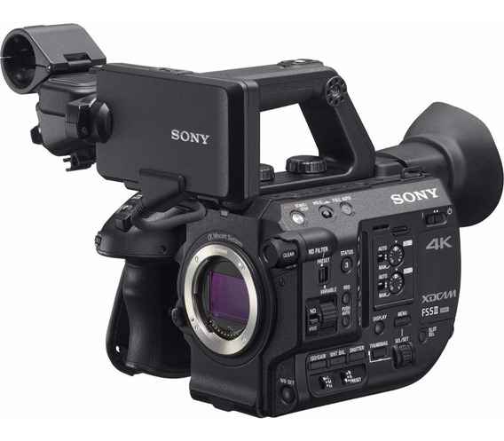 Sony Pxw Fs5 Mark 2 4k Xdcam Super 35mm Compact