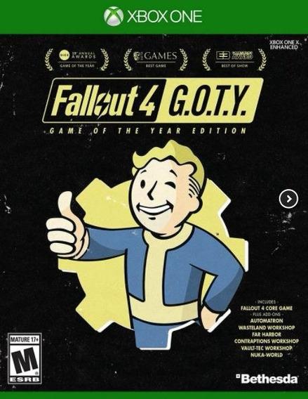 Fallout 4 Game Of The Year Xbox One Códigos 25 Dígitos