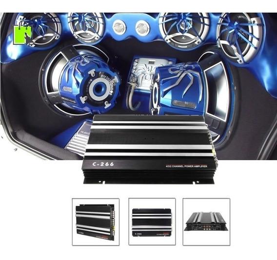 Potencia Planta Amplificador De Sonido Carro 3200w
