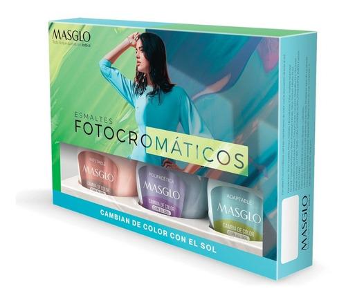 Masglo Esmalte Fotocromatico Kit - mL a $587
