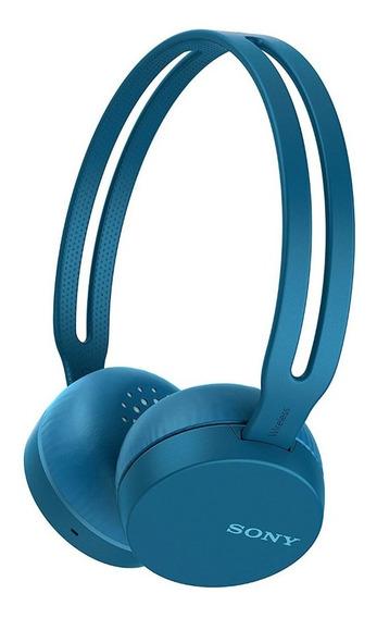 Fone De Ouvido Sony Wh-ch400l Headphone Bluetooth Azul