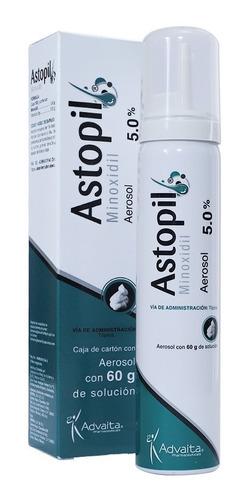 Imagen 1 de 8 de Astopil Minoxidil 5% Espuma 60ml