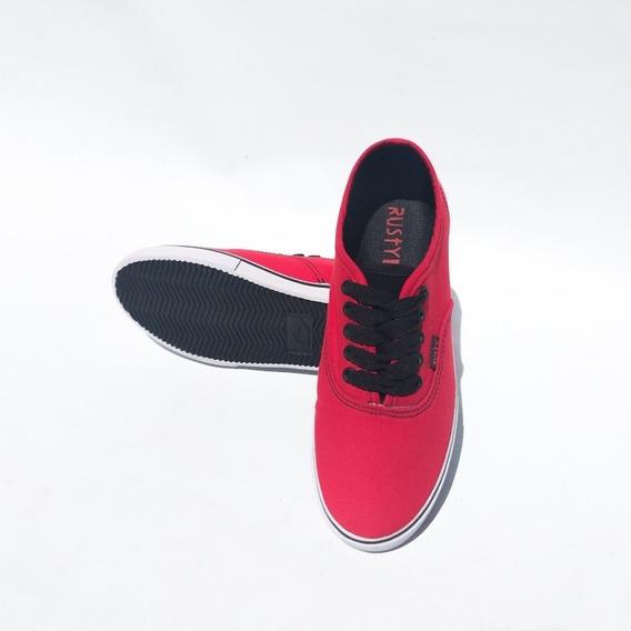 Zapatillas Rusty (dual Rojo)