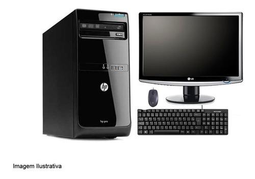 Imagem 1 de 3 de Computador Desktop Hp Pro 3500 I5  4gb 240ssd Monitor 17