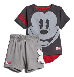 Conjunto adidas Mickey Mouse Para Bebé Short Y Camiseta