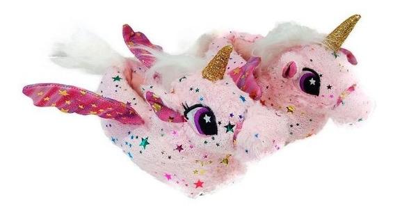 Pantufla Unicornio Rosa 1500l