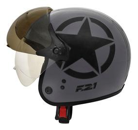 Capacete Moto Motociclista F-21 Us Army Lançamento Peels