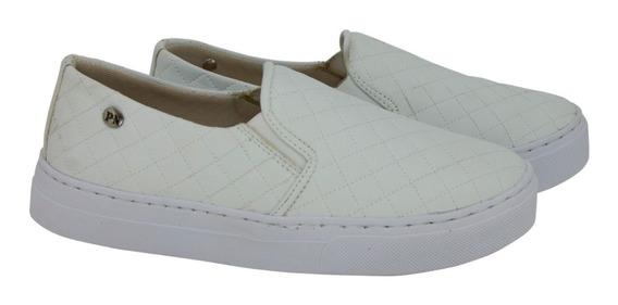 Slip On Casual Feminino Sapato Tenis Promoção Caixa Baixa