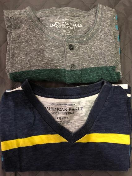 Camisetas American Eagle 2 Por Un Mismo Precio Talla Xl/xxl