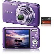Câmera Digital Sony De Cor Violeta - Leia O Anuncio