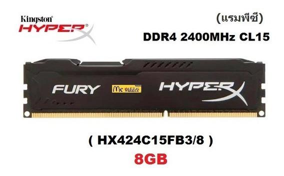 Memória Kingston Hyperx Fury Ddr4 8gb 2400mhz Gamer Original