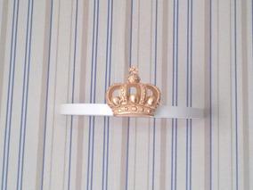 Dossel De Parede Coroa Realeza Para Mosquiteiro Berço