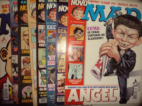 Lote Revista Mad Editora Mythos 8 Edicoes 2001 Otimas