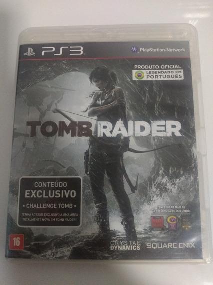 Jogo Tomb Raider Playstation 3 Ps3 Original Em Português