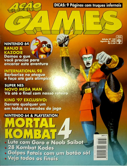 Revista Ação Games N° 130