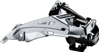 Cambio Dianteiro Shimano Ty700 6/7/8v Dual Pull Bike Altus