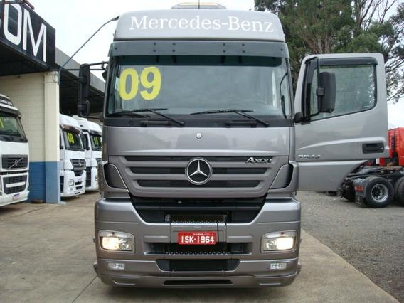 Mercedes-benz Axor 2544 Teto Alto 2009 Com Ar Condicionado
