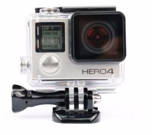 Gopro Caixa Estanque Go Pro Case Housing Skeleto Hero 3+ 4