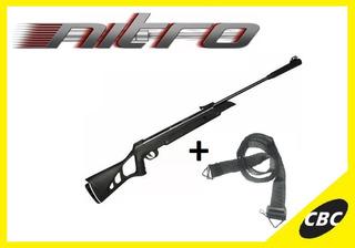 Carabina De Pressão Cbc F22 Nitro X 1000 5,5mm + Bandoleira