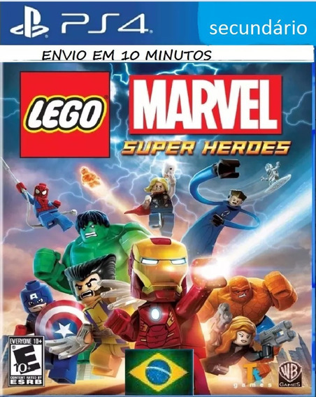 Lego Marvel Super Heroes Ps4 Joga No Usuario Enviado