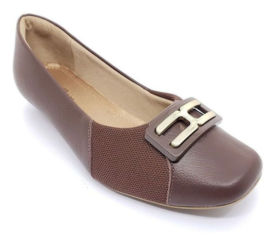 Sapato Usaflex Couro - Ac0806 Original C/ Garantia + Nf-e