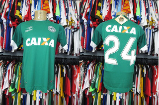 Goiás 2017 Primeira Camisa Tam M N# 24.