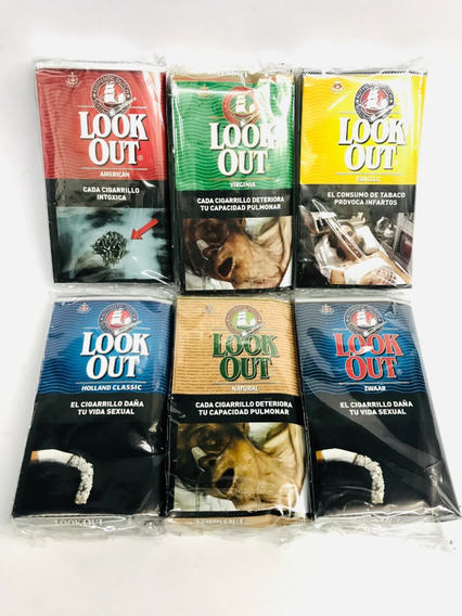Tabaco Look Out 30gr-holanda- Candyclub Once