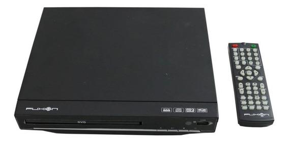 Reproductor De Dvd Fuxion Player Dvd-01 Formato Cd Mp3 Usb