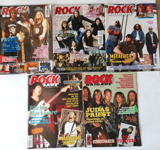 05 Revista Rock Brigade, Especializada Em Haevy Metal Promo