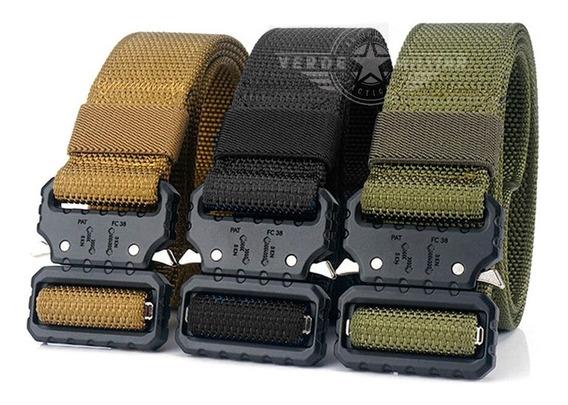 Cinturón Tactico Militar Tallas 28 A 48 Asalto Militar Metal