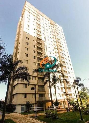 Imagem 1 de 21 de Apartamento Com 2 Dormitórios À Venda, 48 M² Por R$ 265.000,00 - Ponte Grande - Guarulhos/sp - Ap2071