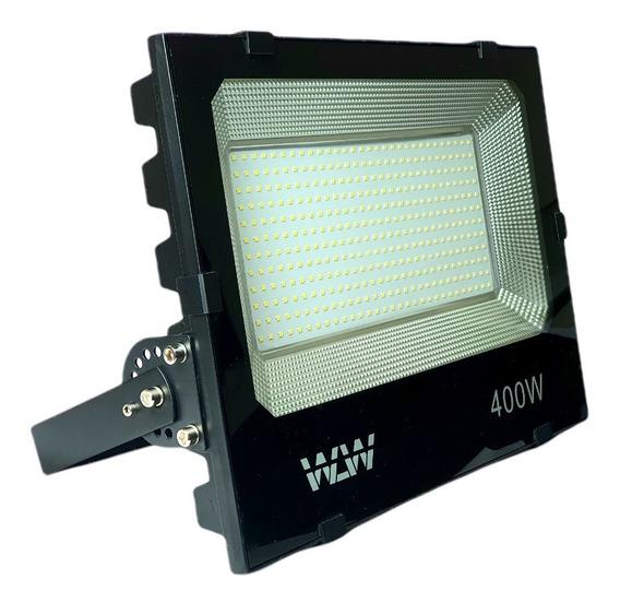 Refletor Holofote Led 400w Smd Branco Frio Bivolt