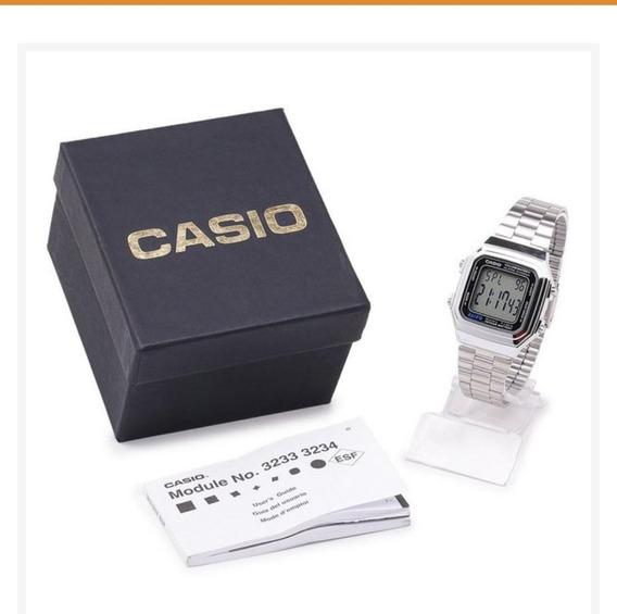 Relógio Casio Masculino A178 Wa1 Df Digilta Retro