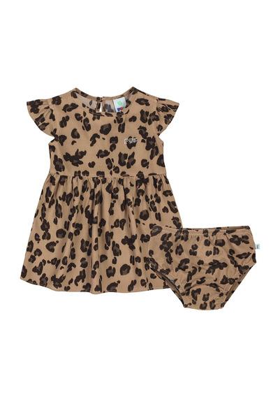 Vestidos Bebê Em Tecido De Viscose Puc - 324u7xf