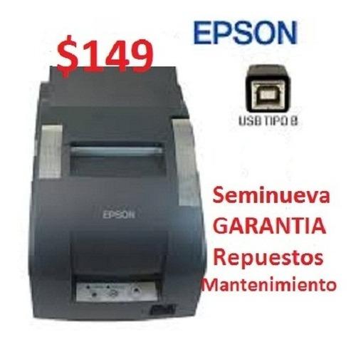 Imagen 1 de 1 de Impresora Epson Tmu 220 Puerto Usb Punto Venta Caja Tickets