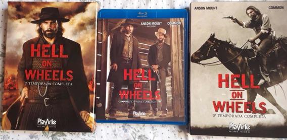 Box Hell On Wheels Temps. 1, 2 E 3 - Original