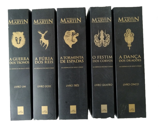 Box Livro Game Of Thrones - Guerra Dos Tronos - Novo Lacrado